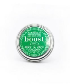 Boost Edibles – Sour Green Apple 300mg THC Cubes