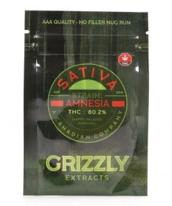 Amnesia Shatter – Grizzly Extracts