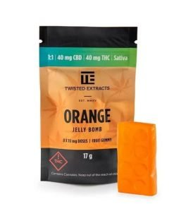Twisted Extracts Orange 1 to 1 Jelly Bomb