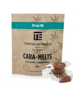 Twisted Extracts Cara Melts CBD