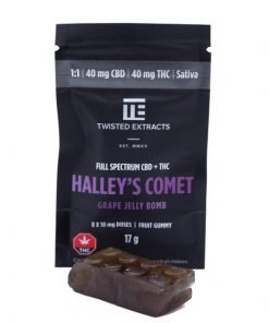 Twisted Extracts Jelly Bomb Grape Halleys Comet 1 1 Sativa