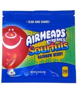 Edibles Airheads Xtremes Sourfuls Rainbow Berry